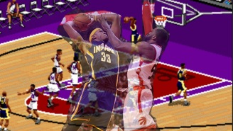 The Raptors Shouldn't Worry, 'NBA Live 97' Says They'll Come Back Against The Pacers