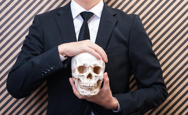 retirement skull