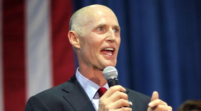 GOP Gubernatorial Candidate Rick Scott Campaigns In Miami