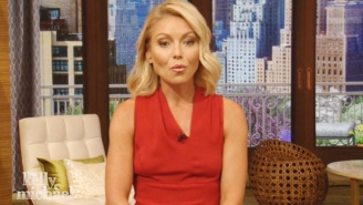Kelly Ripa Returns To 'Live!' With An Emotional Monologue About Respect And Perspective