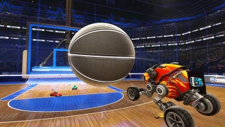 Rocket League's Basketball Update Is Dropping April 26th And It Looks Fantastic