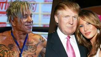 Mickey Rourke Almost Makes You Feel Sorry For Donald Trump With This Vicious Rant