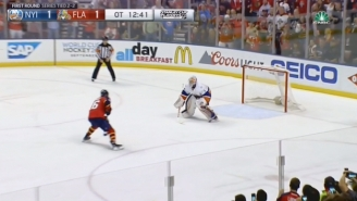 It Doesn't Get Much More Thrilling Than A Penalty Shot In OT Of A Playoff Hockey Game