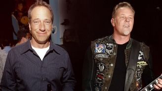 Mike Rowe's Story About Meeting Metallica's James Hetfield Is Just Cringeworthy