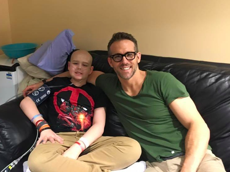 Ryan Reynolds Wrote A Heartbreaking Tribute To Young 'Deadpool' Fan Who Died From Cancer