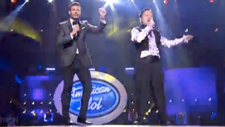 William Hung Performed 'She Bangs' For One Last Time On The 'American Idol' Finale