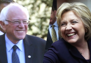 Bernie Sanders And Hillary Clinton Couldn't Have Spent Their Post-Debate Haze In More Different Ways
