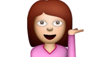 The Mystery Of The Sassy Pink Lady Emoji Lady Has Finally Been Revealed