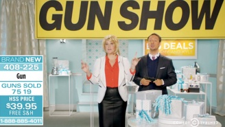'Inside Amy Schumer' Takes On Gun Control In A Home Shopping Themed Sketch