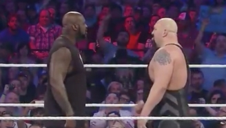 Shaquille O'Neal And Diamond Dallas Page Made Surprise Appearances At WrestleMania 32