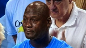 The Internet Is Exploding With Crying Jordan Memes After He Made A Title Game Appearance