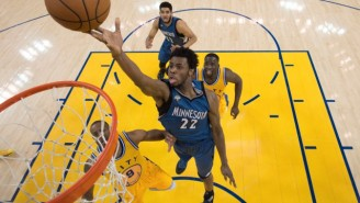 Andrew Wiggins Gave What Marv Albert Calls 'The Delusional Interview Of The Season'