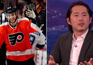 The Philadelphia Flyers Buried 'Walking Dead' Star Steven Yeun With One Simple Tweet