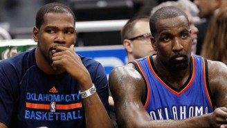 Is Kevin Durant Really Telling Kendrick Perkins About His Free Agency Plans?