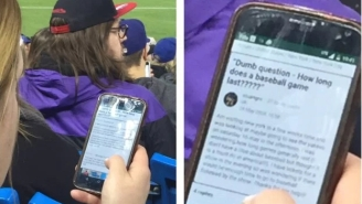 This Woman At A Baseball Game Is So Done With Everything Already