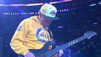 Flea's Version Of The National Anthem: Good Or Too Avant-Garde For The Setting?