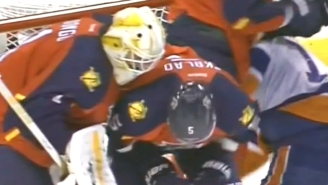 It's Not Playoff Hockey Until There's A Sucker Punch To The Nuts