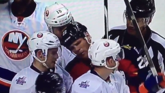 Shawn Thornton Hilariously Trolled An Opponent With The 'Who Are You?' Routine