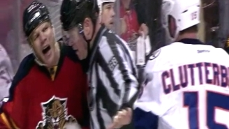 Shawn Thornton Continues To Be The NHL's Best Troll With This Crying Baby Impression