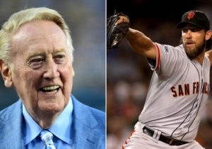 Listen To Vin Scully Tell A Wonderful Story About Madison Bumgarner, A Snake And A Baby Rabbit