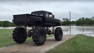 This Monster Truck Pulled Off A Flood Rescue In Texas