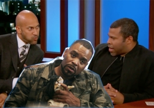 Key And Peele Tell Jimmy Kimmel About Method Man's Supernatural Experience With His Dead Grandma