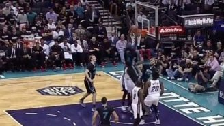 Marvin Williams Exploded Off The Baseline For This Powerful Jam