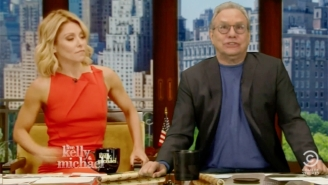 Lewis Black Throws His Hat In The Ring To Join Kelly Ripa As Michael Strahan's Replacement