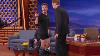 Timothy Olyphant Gives An Acting Masterclass On 'Conan' And Reveals A Lot About His Wardrobe