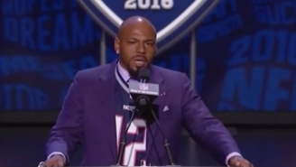 Kevin Faulk Took A Shot At The NFL And Defended Tom Brady's Honor At The Draft