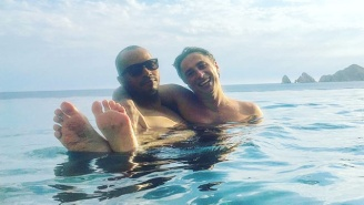 Zach Braff And Donald Faison Enjoy A Cozy 'Scrubs' Reunion In Cabo