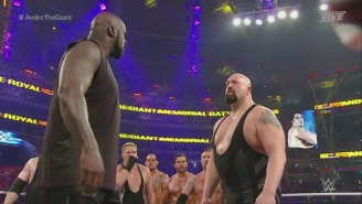 Shaq Is Teasing A WrestleMania 33 Match With The Big Show