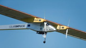 The Solar Impulse 2 Is Flying Around The World Using Nothing But Solar Power