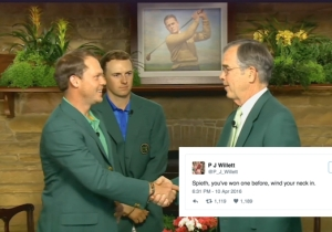 Danny Willett Won The Masters But His Brother's Hilarious Tweets Stole The Show