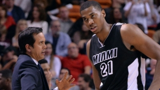 Why The Heat's Hassan Whiteside Was Mad At The Officiating In The 'Flop-Offs'