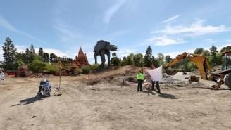 Take A Look At Disney Breaking Ground On 'Star Wars' Land