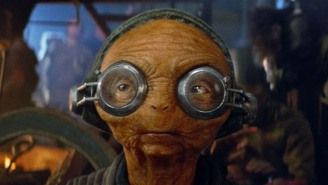 What the new Star Wars: Episode 8 image tells us about Maz Kanata and her role in the film