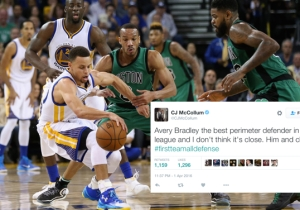 Was C.J. McCollum Correct When He Called Avery Bradley 'The Best Perimeter Defender In The League'?