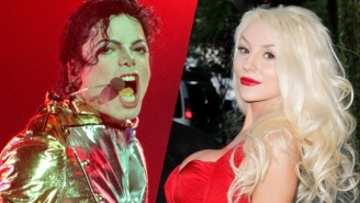 Courtney Stodden Tries To Summon Michael Jackson From The Dead With Fiery Results