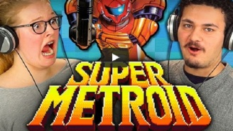 Flash Back To Your Childhood As Teens React To 'Super Metroid'