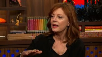 Susan Sarandon Dishes On Her Twitter Feud With Debra Messing