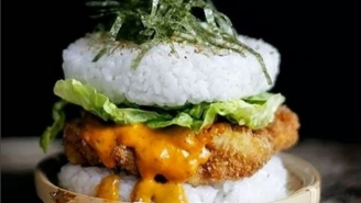 Sushi Burgers Are The Latest Food Craze For Us To All Get Excited About