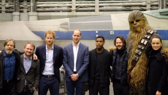 Princes William and Harry got to tour the set of 'Star Wars VIII' and you didn't