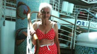 This 90-Year-Old Woman Stuns The Internet By Posing In Bikini And Showing Off Some Real Body Confidence