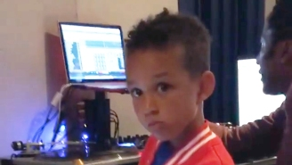 Swizz Beatz' 5 Year Old Son Is Making Beats With Q-Tip