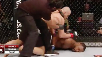 Glover Teixeira Faceplants Rashad Evans With A Heavy-Handed Knockout