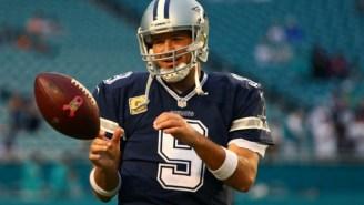Tony Romo Doesn't Seem Very Happy With The Cowboys