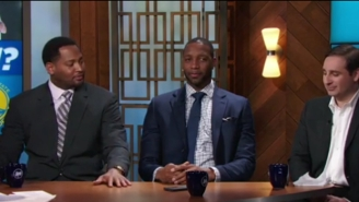 Robert Horry Zings Tracy McGrady On Live TV For Not Having A Ring