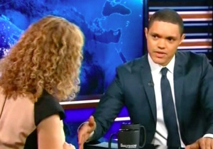 Trevor Noah Accuses The DNC's Debbie Wasserman Schultz Of 'C*ckblocking' Bernie Sanders