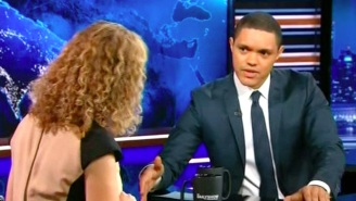 Trevor Noah Accuses The DNC's Debbie Wasserman Schultz Of 'C*ckblocking' Bernie Sanders